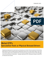 Metal Exchange Traded Funds (ETF)