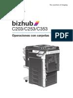 Bizhub c203 c253 c353 Um Box Operations 1-1-1 Es