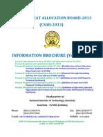 Information Brochure VII(19.07.2013)