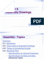 Chapter 6 - Assembly Drawings