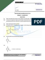 10 12 Chemistry CBSE Paper Soltuion