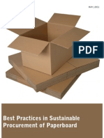 Best Practices in Sustainable Procurement of Paperboard