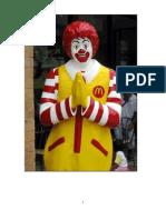 Mcdonalds 4 P's of Marketing
