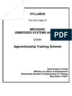 Mechanic (Embedded Systems and PLC)