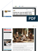 Noticias r7 Com Blogs Daniel Castro Capitulo de Jose Do Egito Custa Mais Que o d