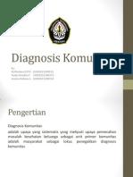 Diagnosis Komunitas IKM