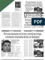 Versión impresa del periódico El mexiquense  19 julio 2013