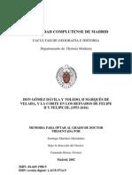 Martínez Hernández - Don Gomez Davila y Toledo, II marques