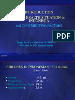 Demography, Child Health