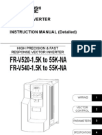 Mitsubishi v500 VFD IB NA 0600065-F FR-V500-NA Instruction Manual-Detailed