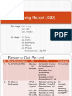 Morning Report (IGD) 22Feb2012