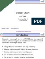 CuSum Charts