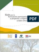 Guia para la formulacion participativa de proyectos