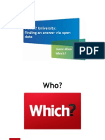 Which university? Why university students should care about open data with Jenni Allen