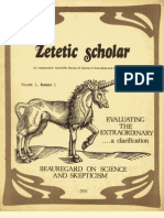 Zetetic Scholar No 1
