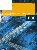 SAP HANA Installation Guide Trigger Based Replication SLT En