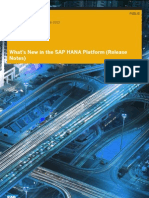 Whats New SAP HANA Platform Release Notes En-sp6