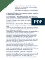 Atuação Fonoaudiológica na Avaliação e Reabilitação vestibular