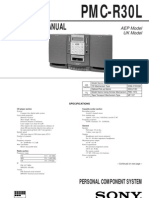 Sony Compact Data Sheet