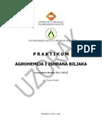 Praktikum Agrohemija i Ishrana Biljaka