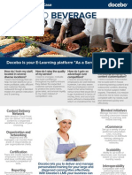 Business Case - Using E-Learning for Food & Beverage training