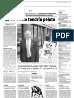 Artículo en La Rioja (2009-05-13 )