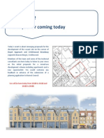 Depot Approach Public Consultation Boards