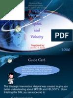 SIM - Speed and Velocity