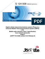 24008-990 Mobile Radio Interface Layer 3 Specification - Core Network Protocols