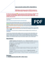 pasar  de pdf a word