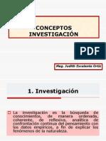 4. Investigación