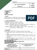 NBR 7181 - 1984 - solo - análise granulométrica