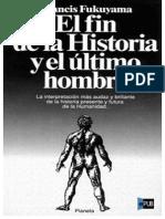 El Fin de La Historia - Francis Fukuyama