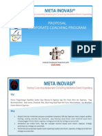 Introduction Session - Meta Coaching in Meta Inovasi New