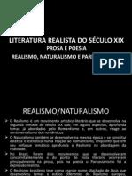 A LITERATURA DO SÉCULO XIX