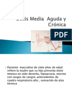 3.Otitis Media Aguda - Cronica