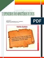 DESPENSEIROS DOS MINISTÉRIOS DE DEUS