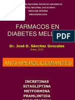 15.Farmacos en Diabetes Mellitus