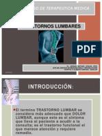 6.Manejo de Trastorno Lumbar