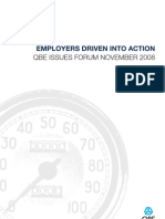 Issues Forum November 2008 Employers Driven Into Action