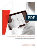 BAIN REPORT Global Healthcare Private Equity Report 2013