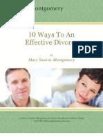 10 Ways to an Effective Divorce