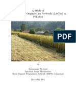 A Study of Local Support Organisation Networks (LSONs) in Pakistan (2011)
