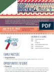 Church Bulletin for July 19 & 21, 2013