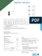 Oscillating Mountings Type AD-C
