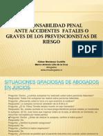 Responsabilidad Penal de Los Prevencionistas de Riesgos...