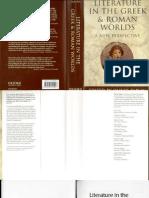 Taplin Literature in the Greek and Roman Worlds