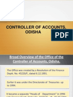 Controller of Accounts
