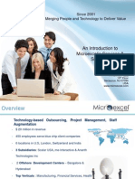 Microexcel-Corporate Overview Presentation Revised 2nd March ,2011