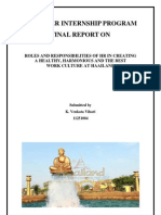Final Report Sample